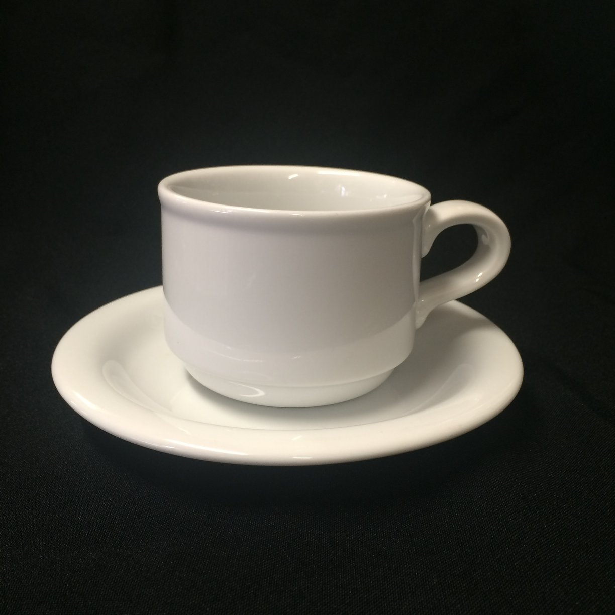 Dudson Coffee & Saucer - Oliver Hire