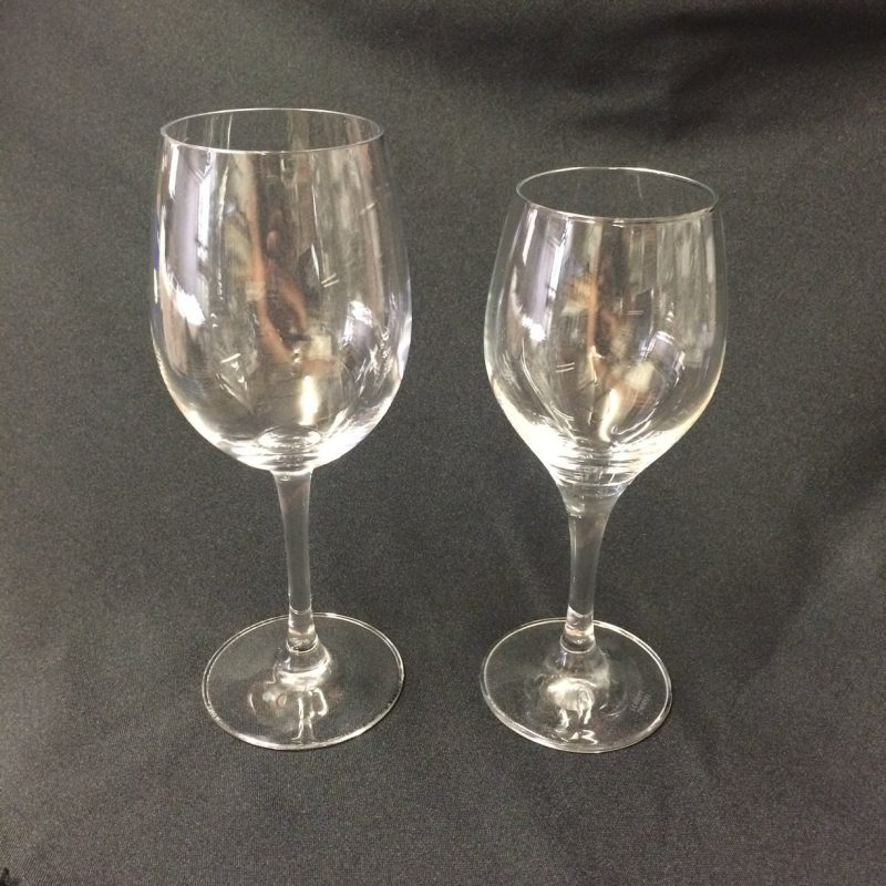 Large-Small-Wine-Glasses