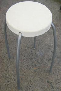 little stool white seat