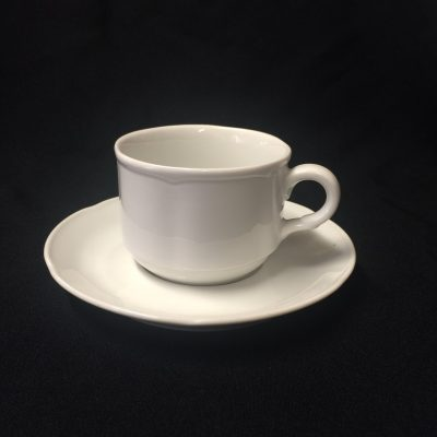 Scallop Coffee & Saucer
