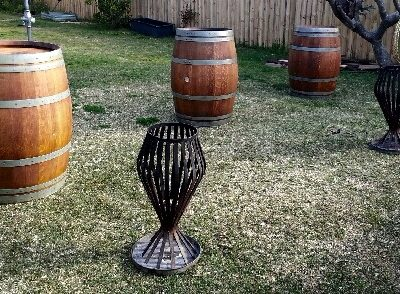 Wine-Barrels-with-brazier