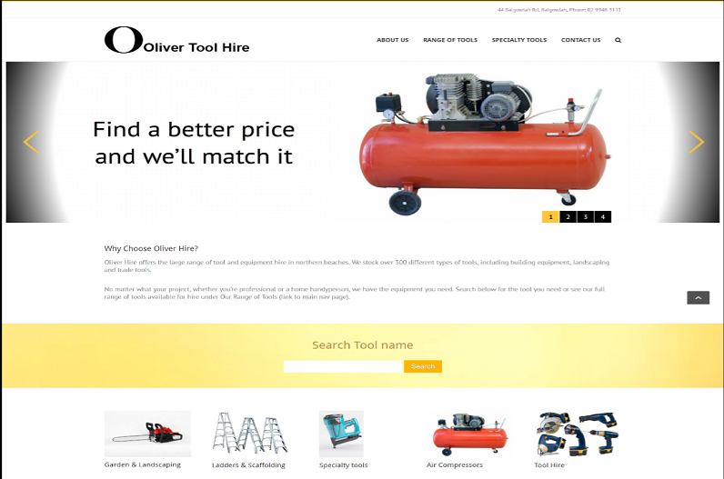 toolhire-homepage