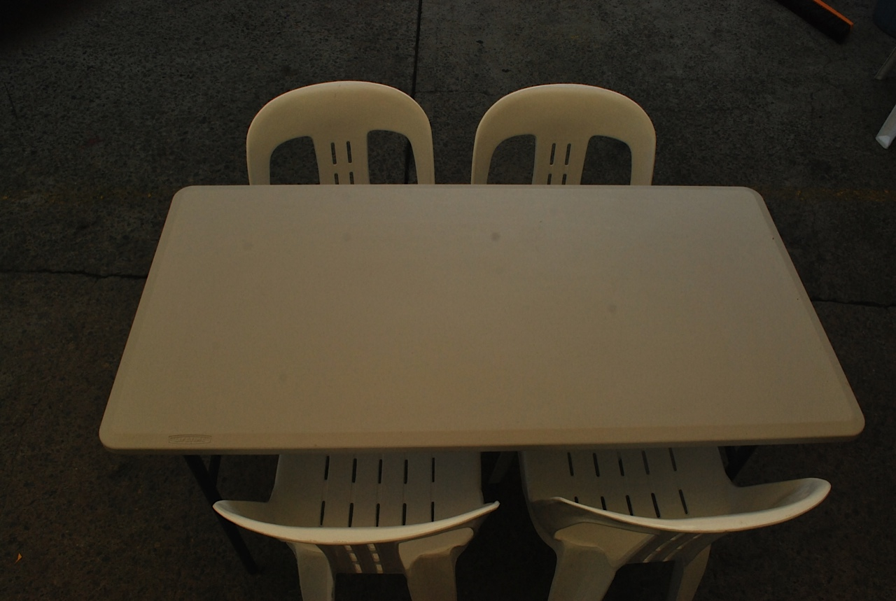 4ft Trestle Table Hire in Northern Beaches