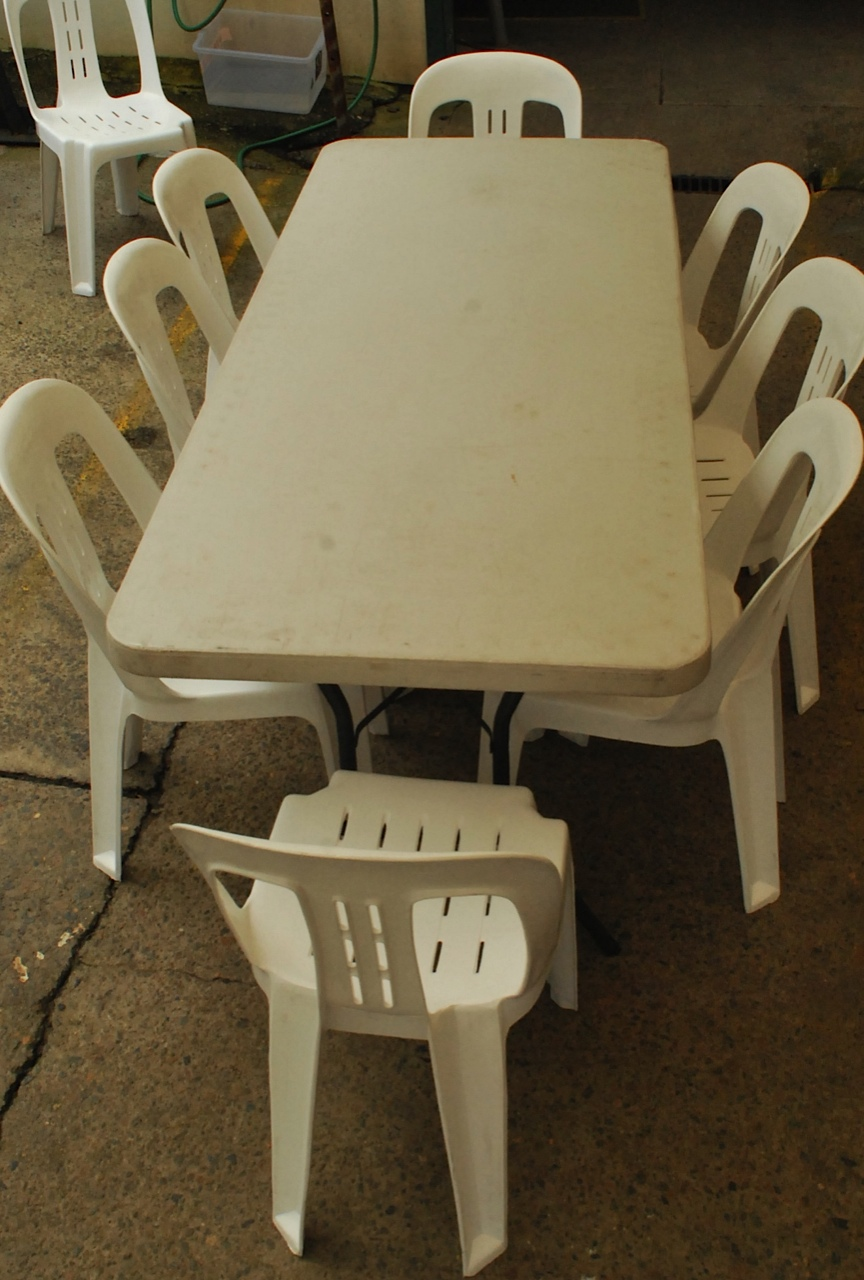 6ft Trestle Table Hire in Northern Beaches