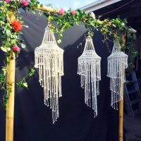 Seashell Chandelier Hire in Northern Beaches