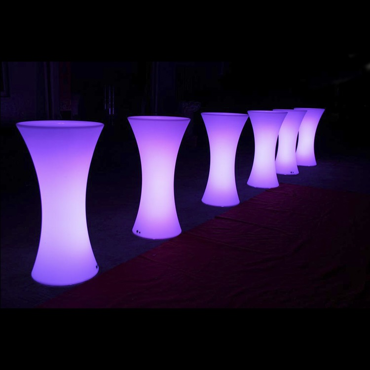 Glow Cocktail Table Hire in Northern Beaches