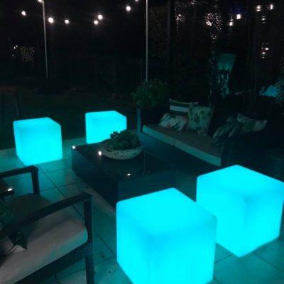 glow ottomans