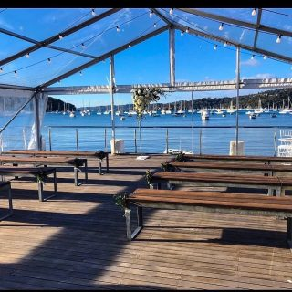 Clear Roof Marquee in Northern Beaches