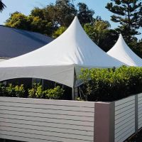 3x12 Spring Top Marquee Hire Northern Beaches