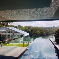 3x6 clear roof marquee
