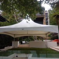 6x6 Spring Top Marquee Hire Northern Beaches