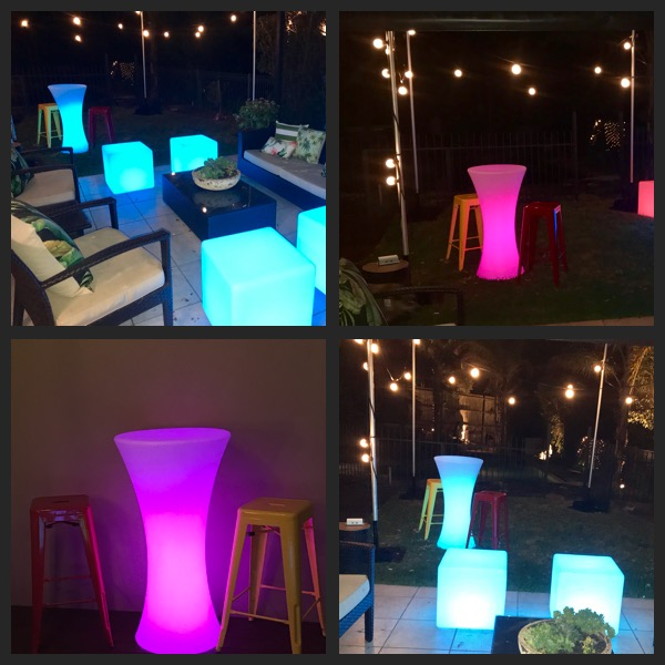 Glow Cocktail Tables